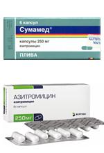 азитромицин сумамед зи фактор азивок азитрокс хемомицин