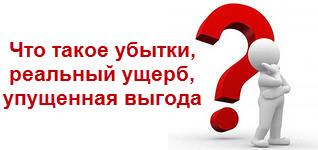 Возмещение убытков, реальный ущерб, упущенная выгода, статья 15 ГК РФ